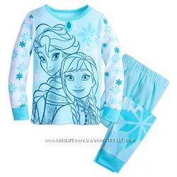 пижамы и тапочки для девочек Дисней