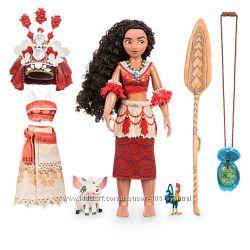 Набор поющая кукла Моана, Ваяна с светящим сердцем