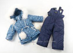 Детский зимний комбинезон для девчонок