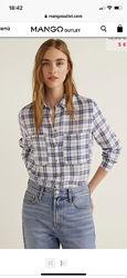Рубашка блузка Mango