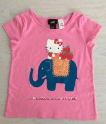 Новая футболка H&M Hello, Kitty - рост 98- 104 см