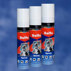 Средства от блох и клещей для собак Bolfo