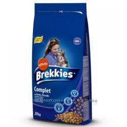 Сухой корм для кошек Brekkies Брекис