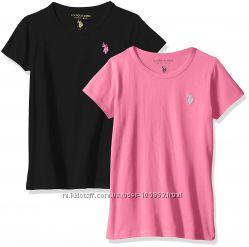 Новые базовые футболки U. S. Polo Assn на 10-12 лет f57d35710a720
