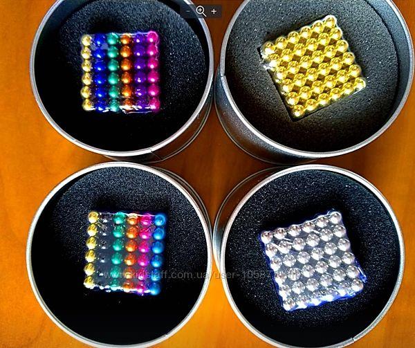 Игрушка НеоКуб магнитные шарики 5мм 216 головоломка Neocube