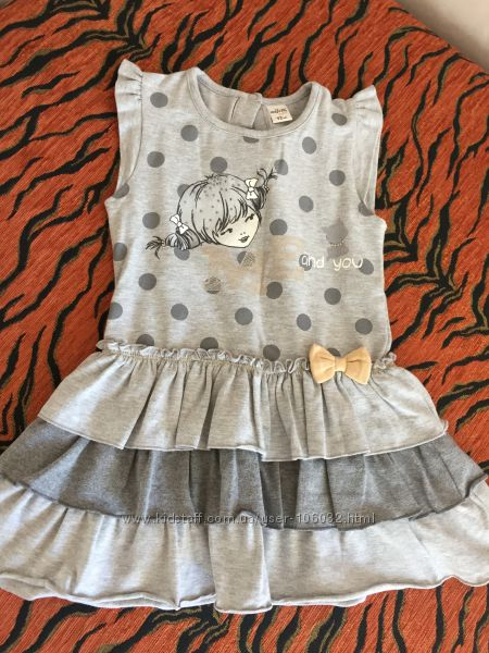 Наши платья на малышку 1-2 года Цены снижены