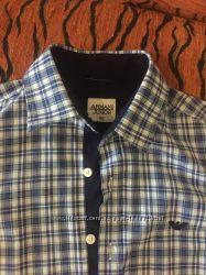 Классная рубашка Армани  р. 140-150
