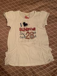 Много футболок  на 3-5 лет