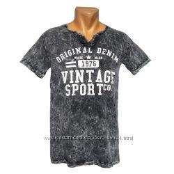 Стильная мужская футболка Vintage - 2394