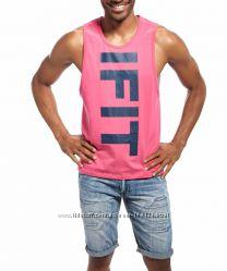 Стильная розовая майка IFIT - 2615