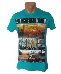 Стильная мужская футболка Highlander - 4190