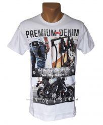 Мужская белая футболка Highlander - 4246