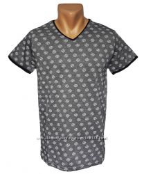 Стильная мужская футболка - 4257