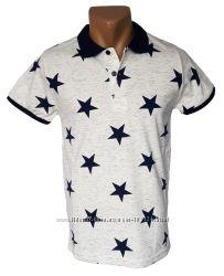 Стильная мужская футболка Leonidas - 4260