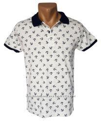 Стильная мужская футболка Leonidas - 4261