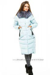 Зимние пуховики Lims, с натуральным мехом