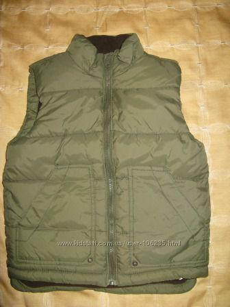Теплая жилетка Зара Zara рост 122 см