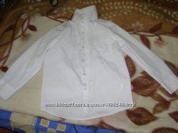 Рубашка белая в школу