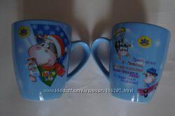 Чашка- кружка с новогодними мотивами
