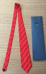Новый шелковый галстук - Италия- Hand made