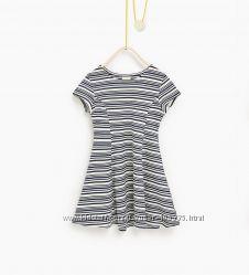 Платье Zara для стильной девочки