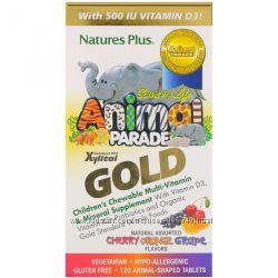 Детские витамины Парад животных Solgar Alive