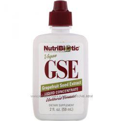 NutriBiotic Экстракт семян грейпфрута GSE