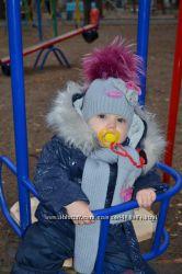 Зимний комплект, набор- шапка, шарф  Wojcik  Mokosh
