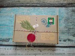 Волшебная посылка  от  Деда Мороза, Санта Клауса