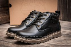 Мужские кожаные ботинки на меху Timberland