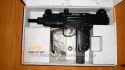 Пневматический пистолет автомат UZI  узи