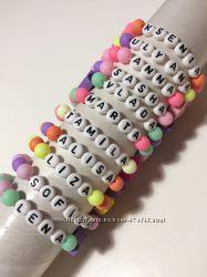 Именные браслеты любое имя