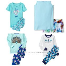 Пижамки Crazy8, Gymboree, Childrens place из США на 6-7 лет
