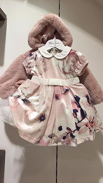 Комплект платье и пончо 58-82 см Gaialuna