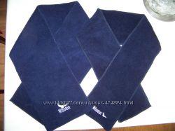Флисовый синий двухслойный шарф winston мужской или женский