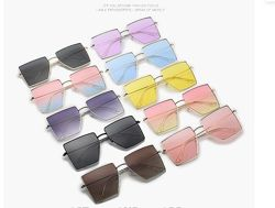Солнцезащитные очки-квадраты со скошенным углом и тонкой оправой