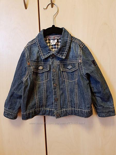 Джинсовая куртка Chicco, рост 80 см