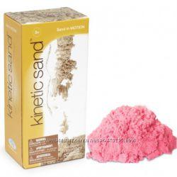 Кинетический песок Waba Fun Швеция 1кг роз - зел - син - оранж - цвет песка