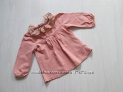 Красивая блузка Next 6-9 мес в состоянии новой