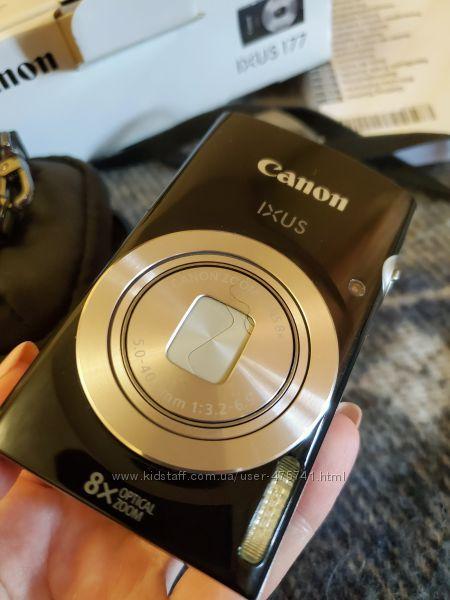Canon IXUS 177 с чехлом и родной коробкой