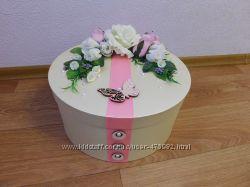 Декорированная коробка для подарков