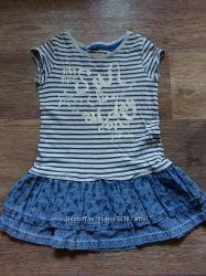 Платье-туника для девочки, NEXT.