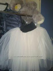 Фатиновая пышная юбка