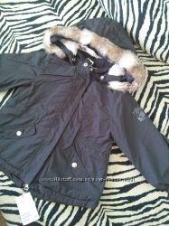 Куртка парка деми H&M 1, 5-2 года по бирке