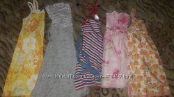 Летние платья и сарафаны девочке