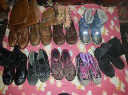 Детские разные деми ботинки-сапожки