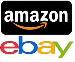 Amazon, eBay. США,  Европа.