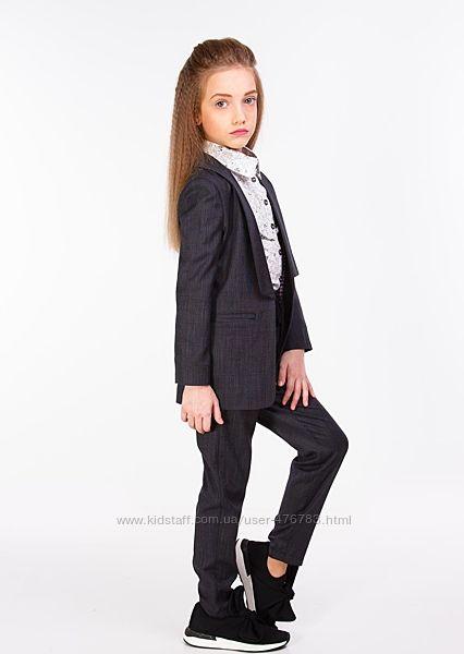 Стильные школьные пиджаки для девочки