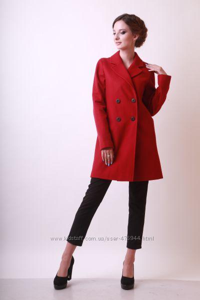 Осенне-весеннее женское шерстяное пальто