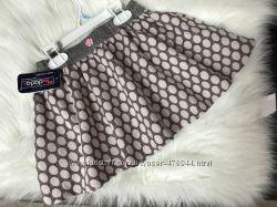 Польская детская юбка из теплой ткани MMDadak, р. 110